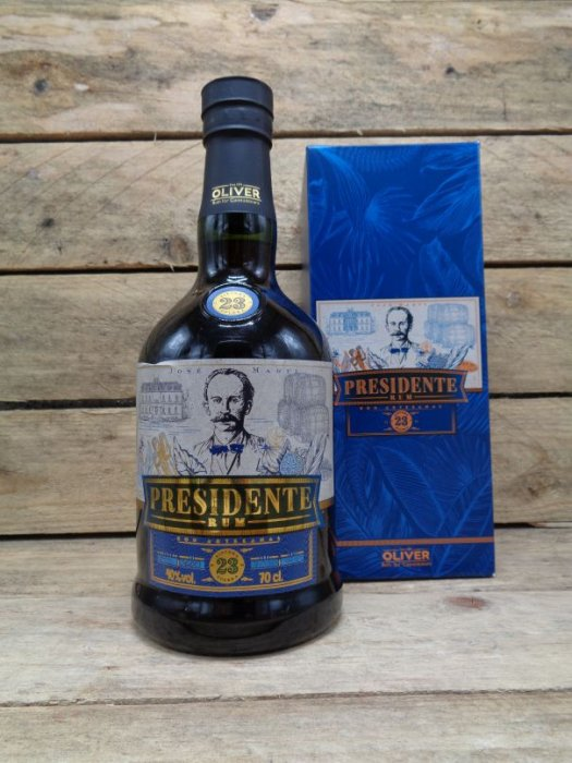 Rhum Presidente Marti 23 ans Saint Domingue