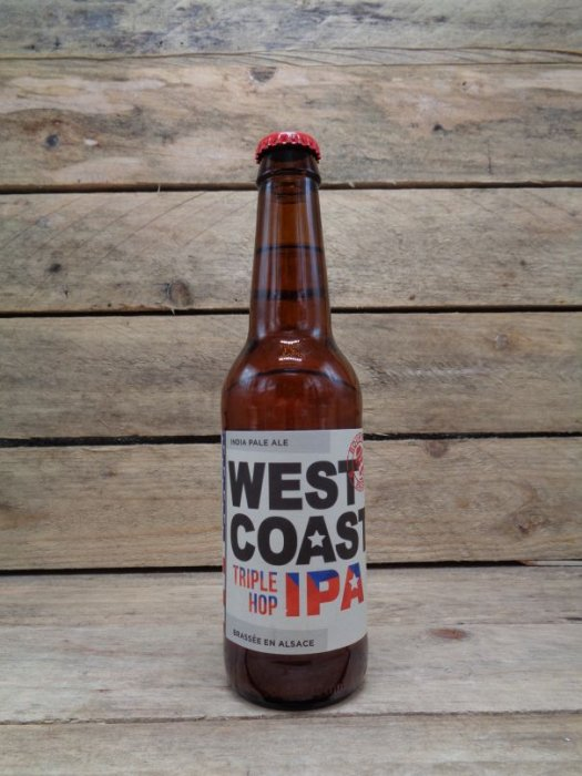 Bière Triple Hop IPA West Coast