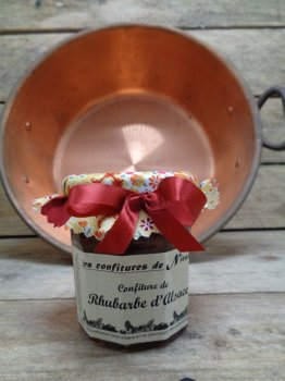 Confiture Rhubarbe d'Alsace