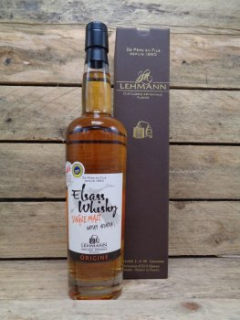 Elsass Whisky alsacien single malt by Lehmann