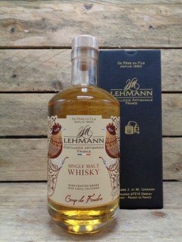 Whisky Single Malt Coup de Foudre by Lehmann
