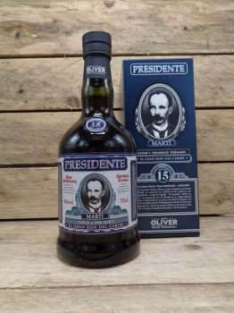 Rhum Presidente Marti 15 Saint Domingue