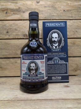 Rhum Presidente Marti 19 Saint Domingue