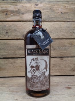 Rhum Black Magic épicé Porto Rico