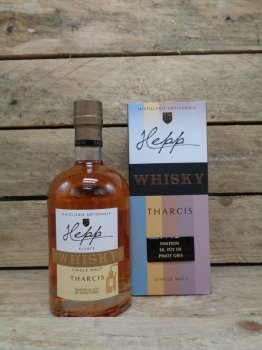 Whisky Single Malt Hepp Tharcis Finition Fût de Pinot Gris