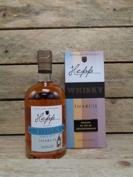 Whisky Single Malt Hepp Tharcis Finition Ex-fût de Gewurztraminer