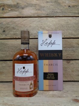 Whisky Single Malt Hepp Tharcis Finition Fût de Pinot Noir